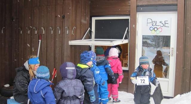 OL i barnehagen!